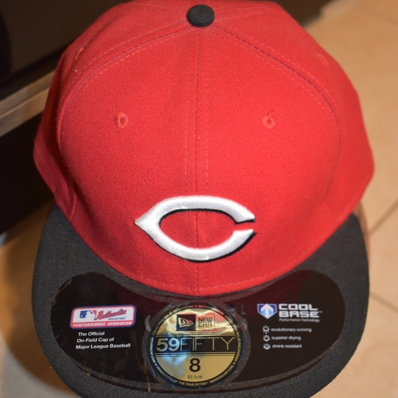 729f2d4cf4a Cincinnati Reds New Era MLB Authentic 59FIFTY Cap